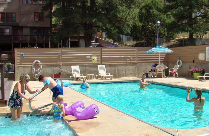 Outdoor pool at Ferringway Condominiums.