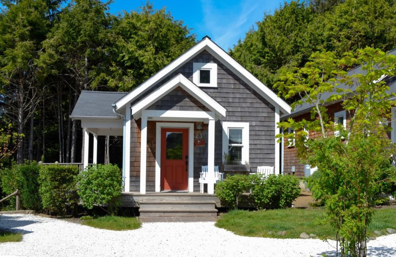 Rental exterior at Seabrook Cottage Rentals.