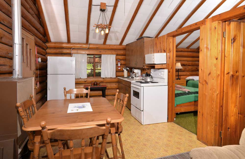 Family accommodations at Manotak Lodge