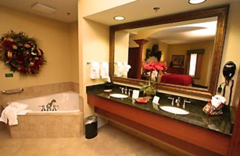 Guest Bathroom at The Inn at Christmas Place