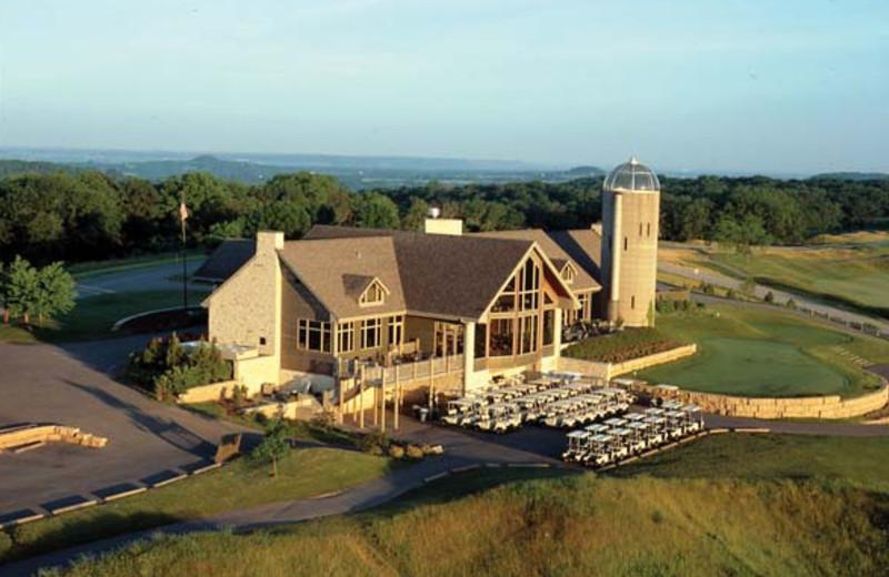 Golf Club View at  Eagle Ridge Resort