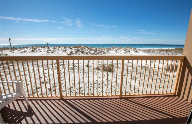 Balcony view at Holiday Isle Properties - Pelican Beach 110.