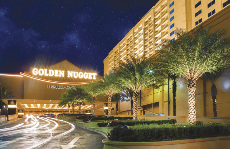 Exterior view of Golden Nugget Casino Hotel Biloxi.