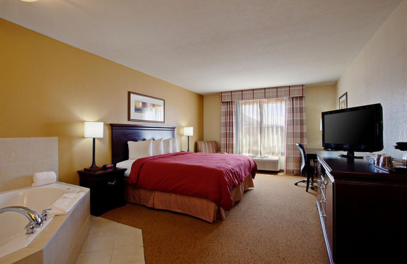 Guest room at Hotel Tucson City Center.