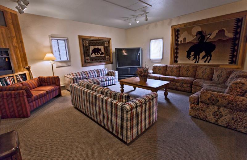 Guest room at Summit Peaks Lodge North.