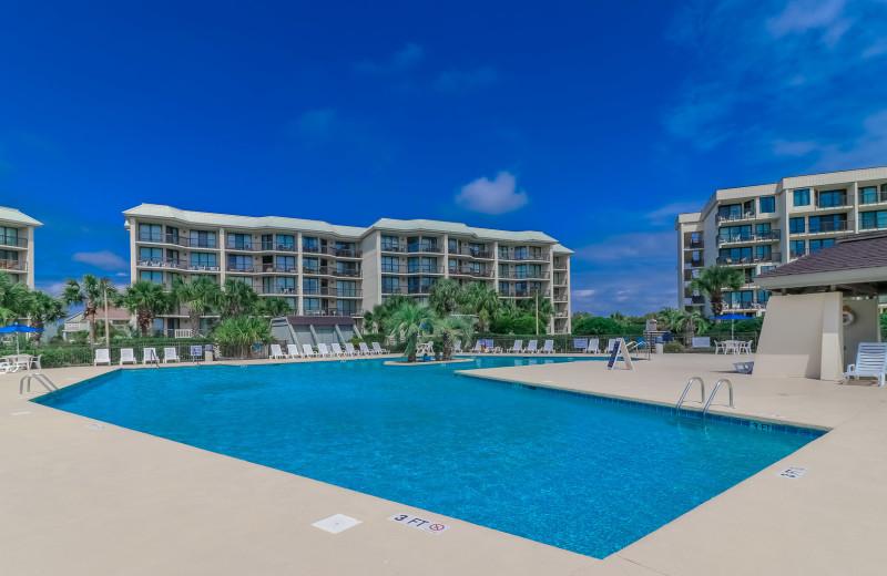 Rental pool at Sea Star Realty.