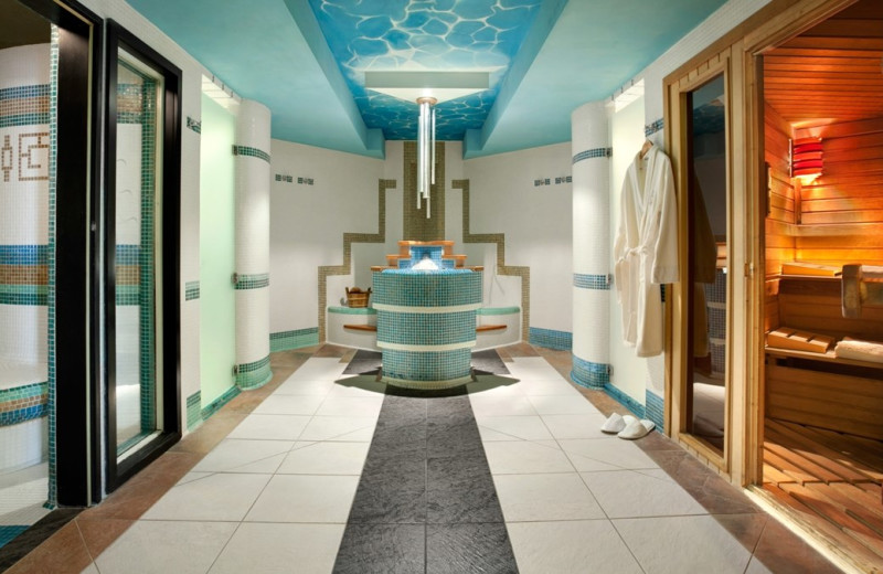 Spa at Kempinski Hotel Corvinus Budapest.