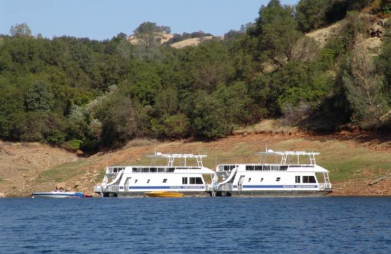 House boats at Lake Don Pedro.