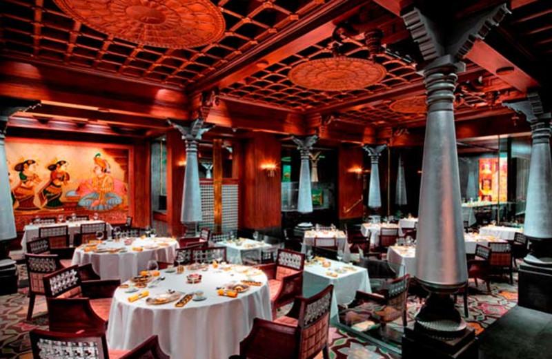Dining at Taj Coromandel.