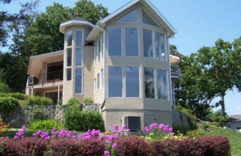 Vacation rental at Crystal Water Villas.