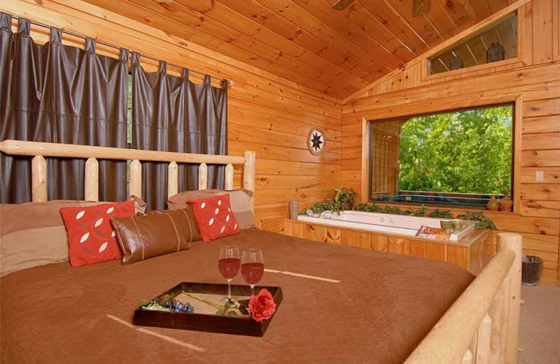 sevierville vacation rentals - cabin - cowboy hideaway: a timber