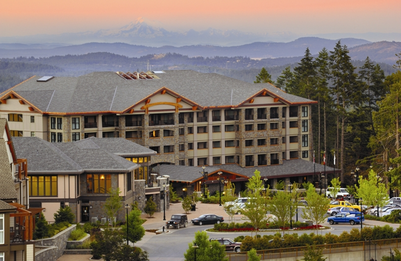 Exterior view of The Westin Bear Mountain Golf Resort.