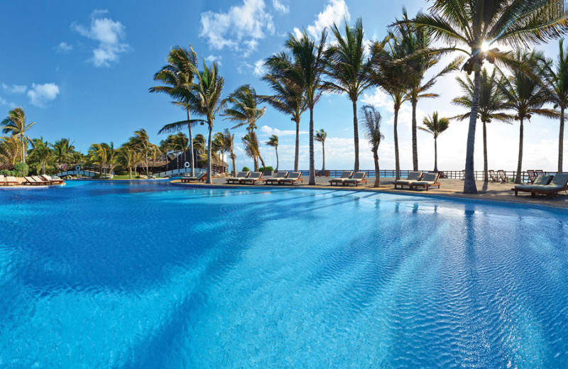 Outdoor pool at Oasis Cancun.