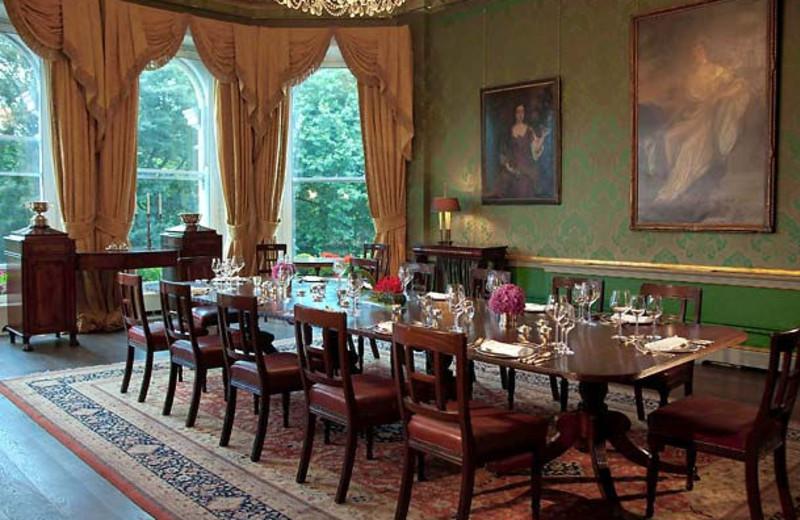 Meeting room at Shelbourne Meridien Hotel.