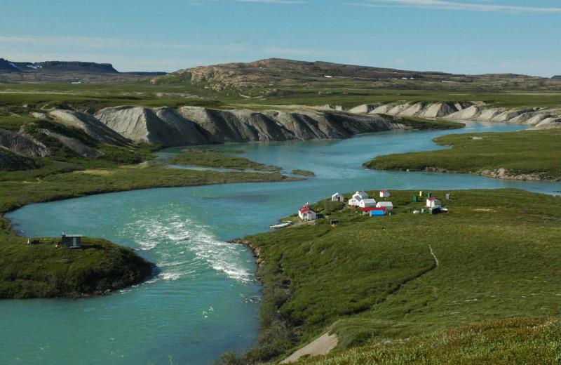 Lodging at Plummer's Arctic Fishing Lodges.