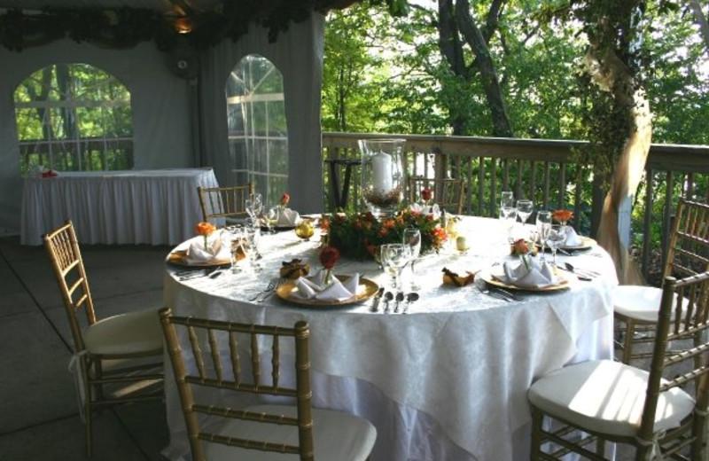 Dining Table View at  Eagle Ridge Resort