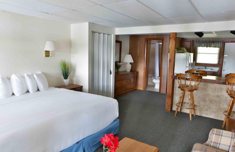 Guest room at Naswa Resort.