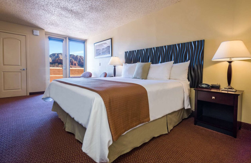 Guest room at Best Western Plus Inn of Sedona.