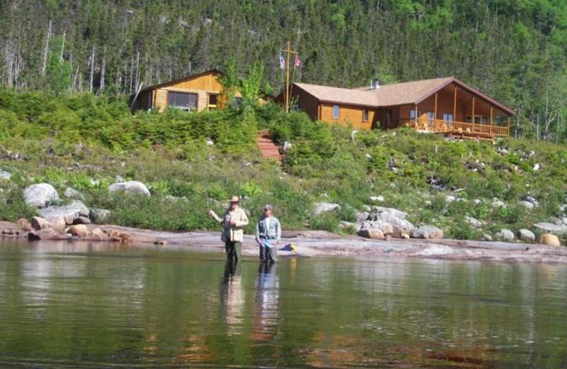 Cabin at Grey River Lodge.