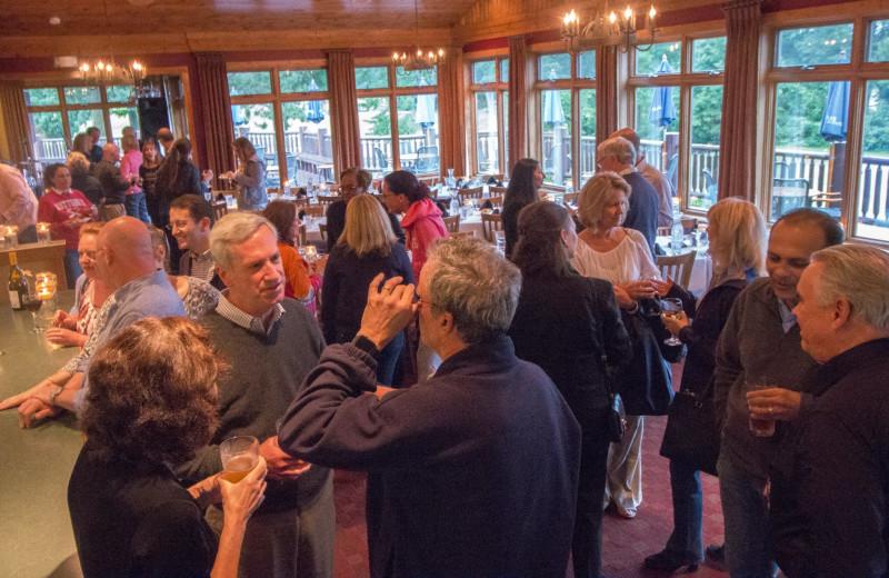Groups at Ruttger's Bay Lake Lodge.