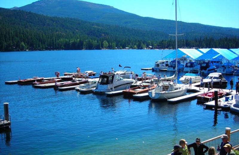Marina at Blue Diamond Marina.