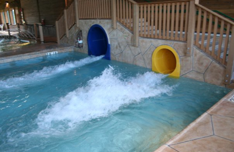 Water slide at Holiday Inn Express Brainerd.