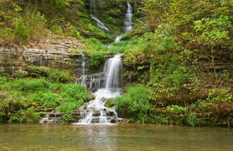 Waterfall near Radisson Hotel Branson