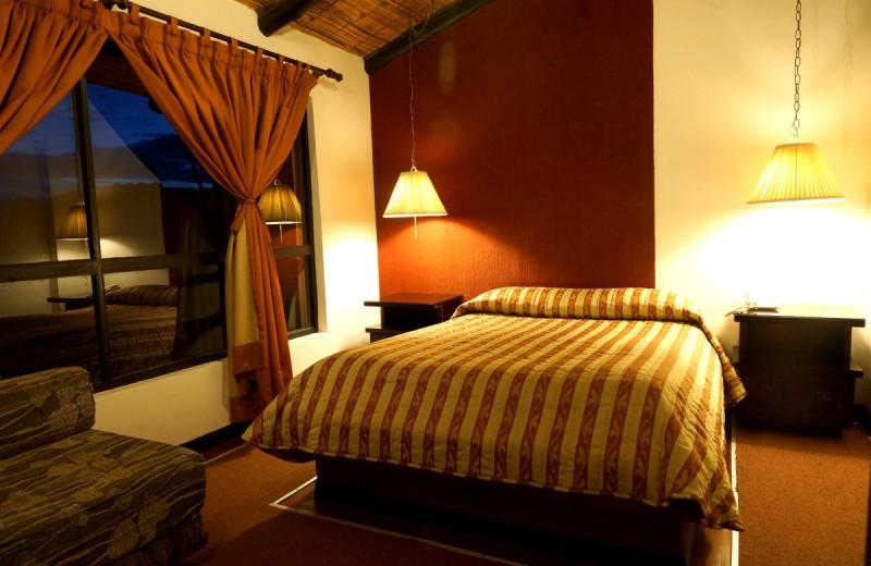 Guest room at Hostería El Troje.