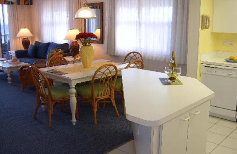 Vacation rental interior at Abaco Beach Vacation Villas.