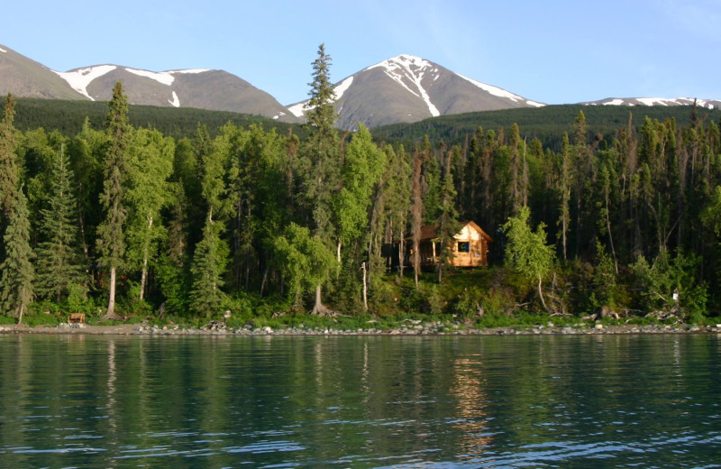Exterior view of Kenai Backcountry Lodge.