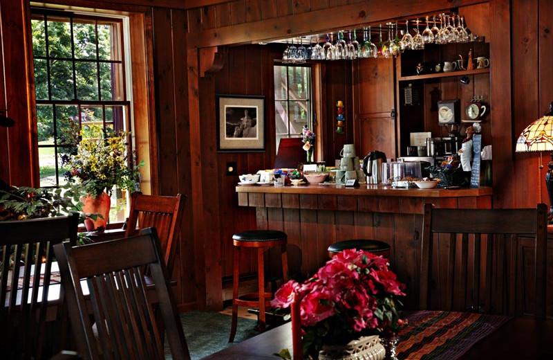 Bar at Annville Inn.