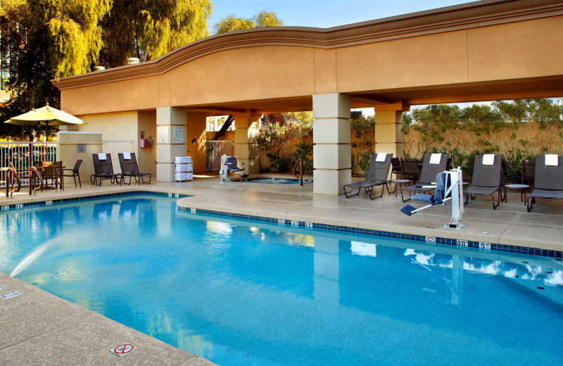 Outdoor pool at Fairfield Inn & Suites Phoenix.