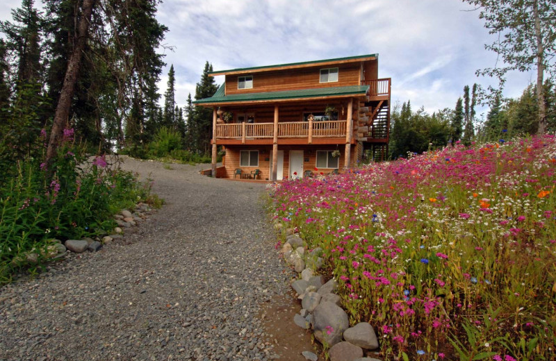 Exterior view of All Alaska Outdoors Lodge.