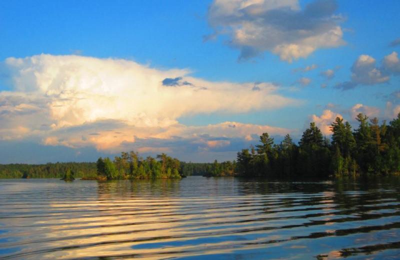 Beautiful Lake View at Lady Bug Lodge