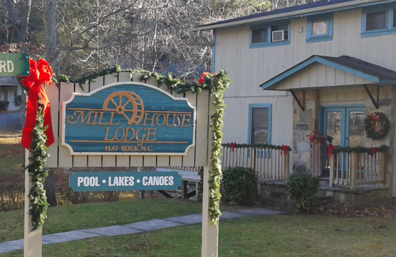 Holidays at the Mill House Lodge.