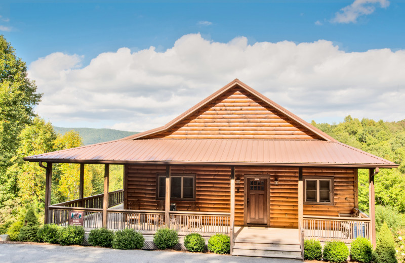 Rental exterior at Boone Cabin Rentals.