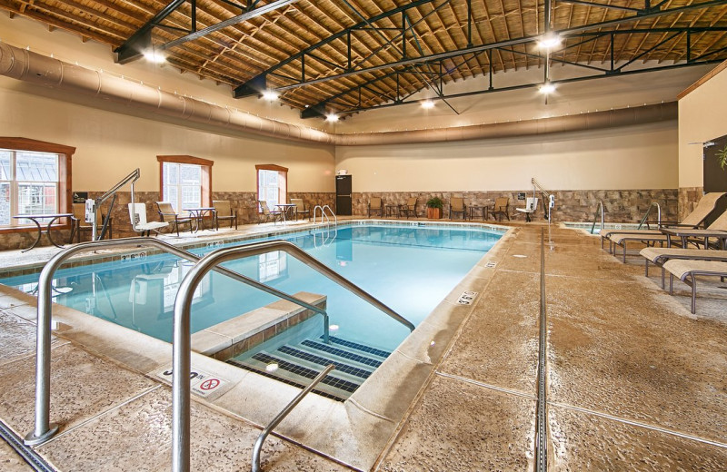 Indoor pool at Best Western Plus Intercourse Village Inn.