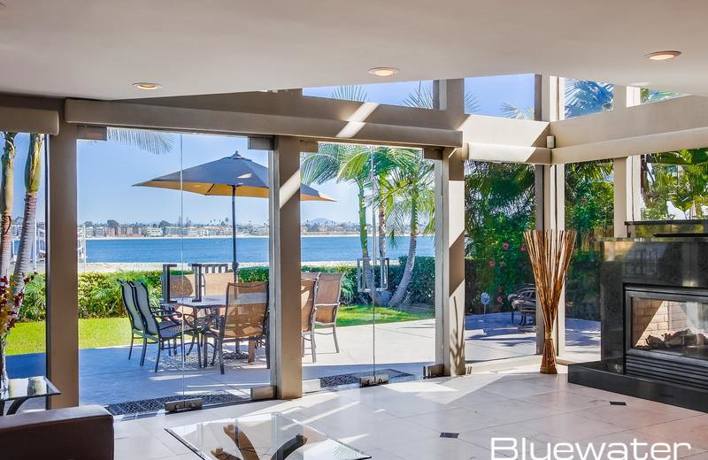 Rental interior at Bluewater Vacation Homes.