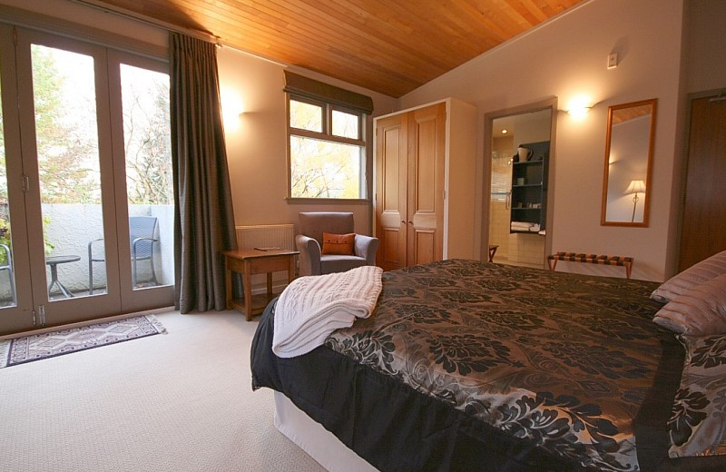 Guest room at Remarkables Lodge.