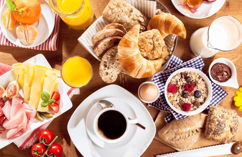 Breakfast at Del Lago Resort & Casino.