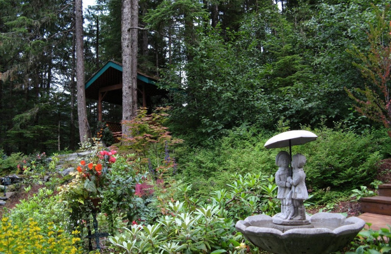 Garden at Pearson's Pond Luxury Inn and Adventure Spa.