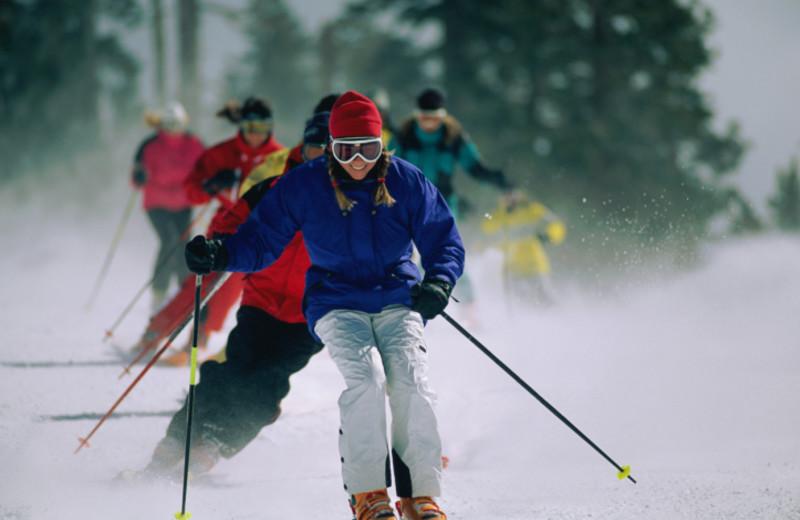 Skiing at SkyRun Vacation Rentals - Vail, Colorado.