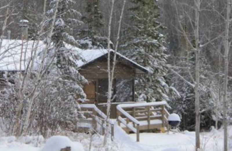 Winter at Golden Eagle Lodge.