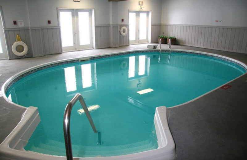 Indoor pool at Water's Edge Inn & Conference Center.