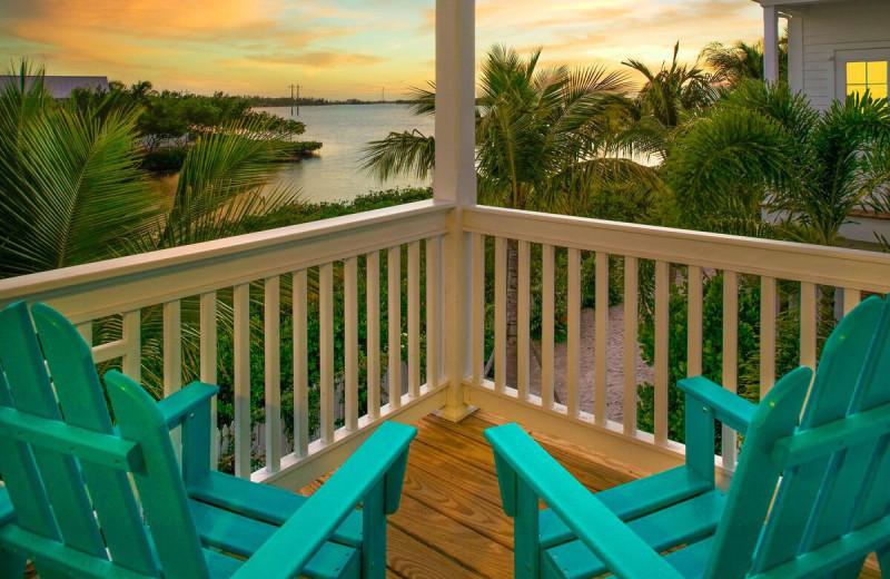 Sunset at Parrot Key Resort.