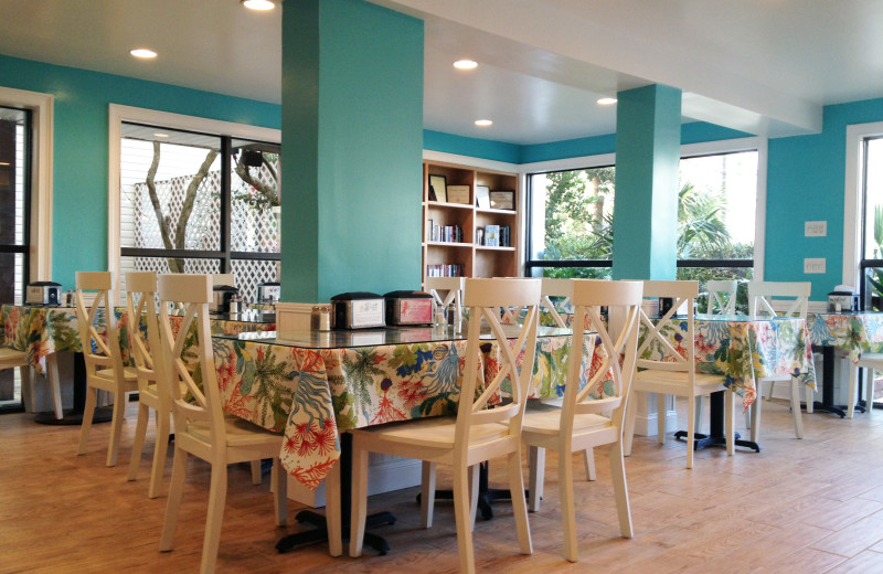 Dining room at The Winds Resort Beach Club.