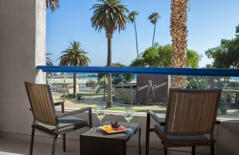 Relaxing at Ocean View Hotel.