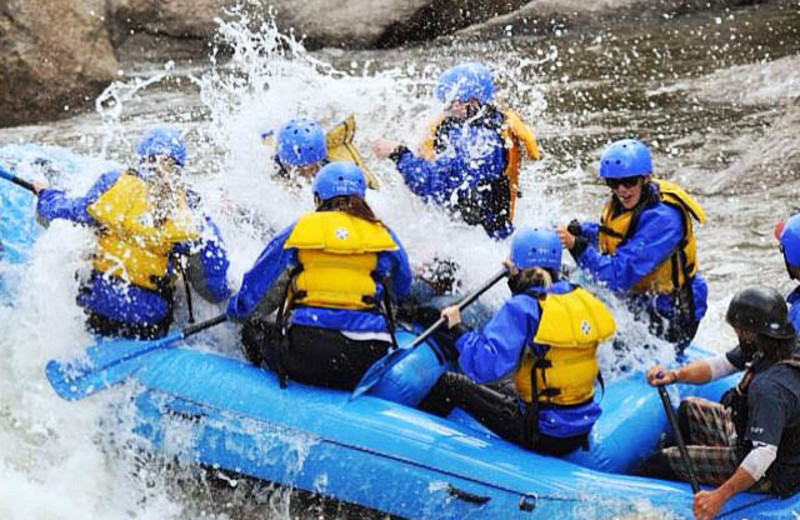 River rafting at Ski Country Sports.
