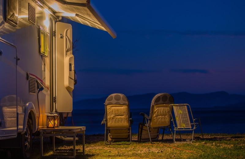 RV campground at Havasu Springs Resort.