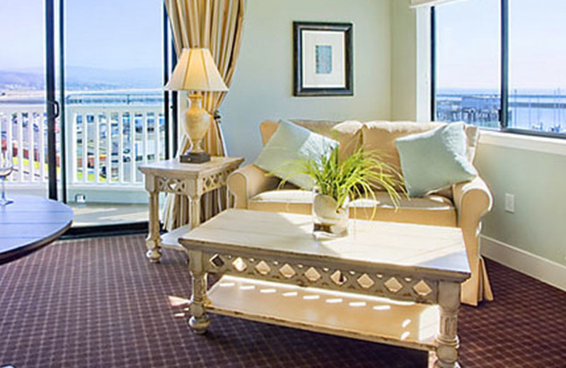 Suite Interior at Oceano Hotel & Spa